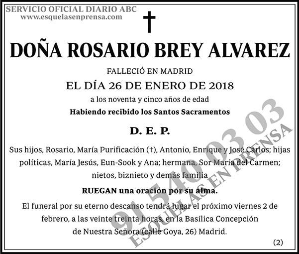 Rosario Brey Alvarez